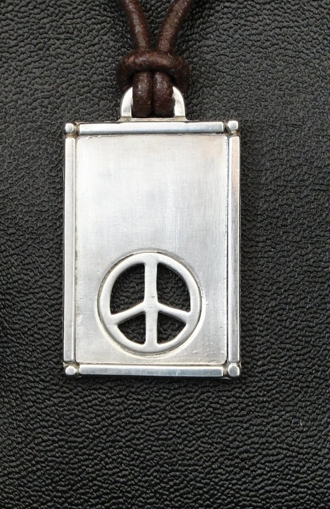 Peace Sign Pendant.....$90