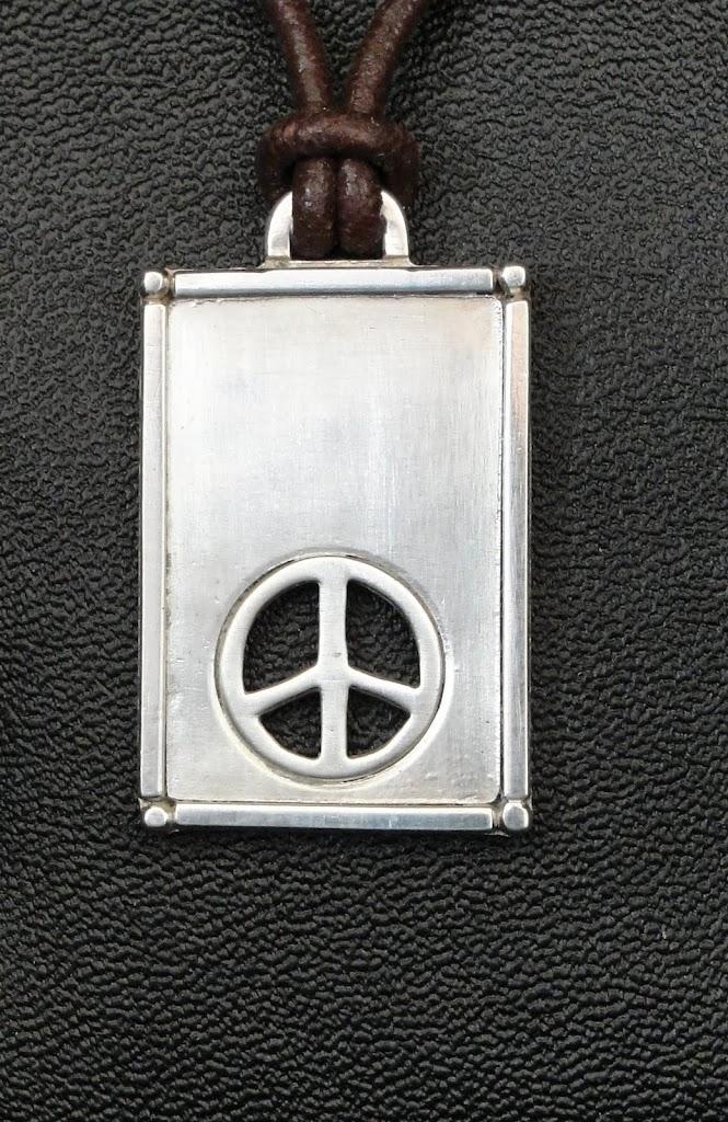 Peace Sign Pendant.....$90