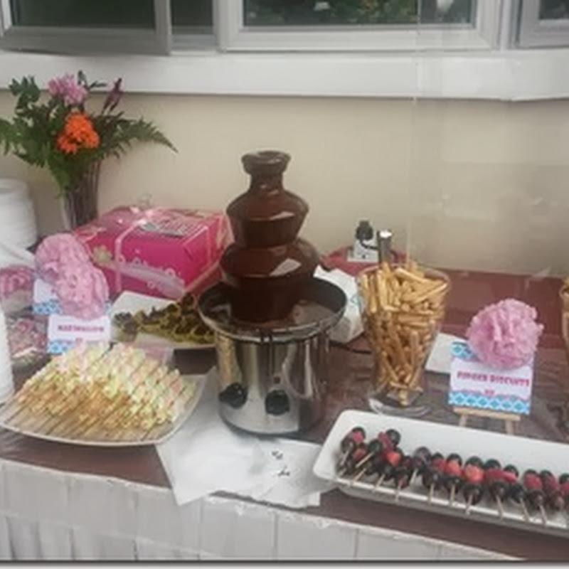 Pakej Coklat Fountain di majlis anda !