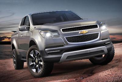 Chevrolet Colorado Concept (2011) Front Side 1