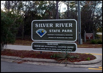 01 - Silver River SP Sign