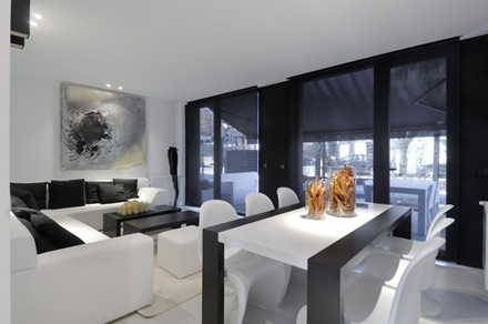 salon-decoracion-blanco-negro