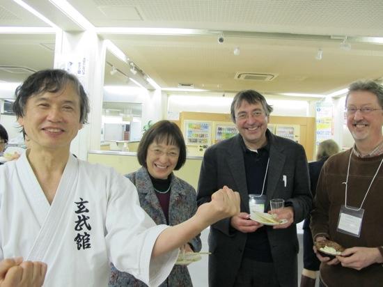 Junko armin jk with shigeki kaji 2nd degree black belt karate