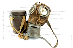 Leather German gas mask model 1917