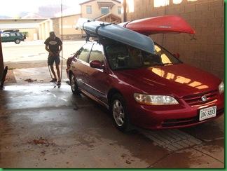 In Kanab-Car wash