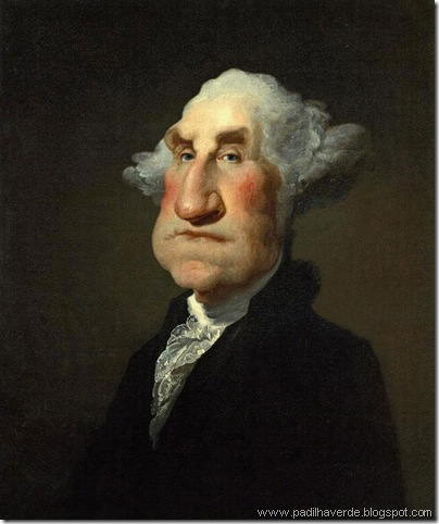 Caricatura George Washington1