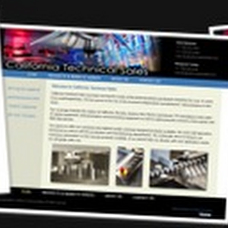 Website Redesign of California Technical Sales