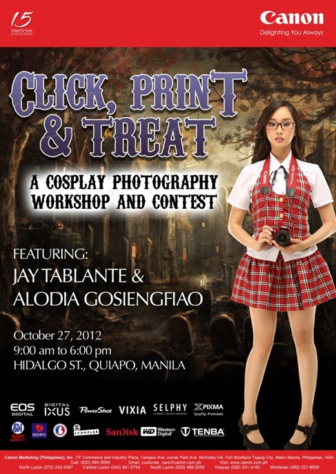 Click Print and Treat by Canon