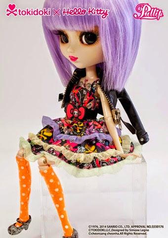 Pullip Violetta Tokidoki x Hello Kitty 07