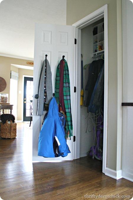 organized coat closest