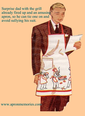 dad in an apron (Medium)