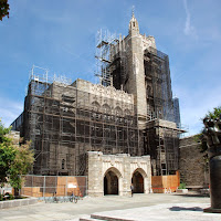 Princeton University, Firestone library, scaffold, netting, superior scaffold, 215 743-2200.jpg