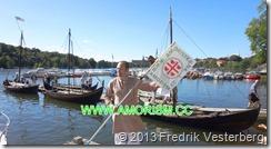 DSC08502.JPG Segel och roddbåtar vikingautställning amoriststandar (1) Bättrad. Med amorism