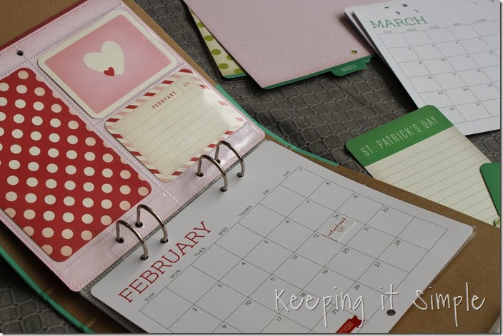 DIY personalized calendar #giftsatmichaels (3)