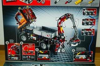 LEGO: 8110 UNIMOGを組む その2
