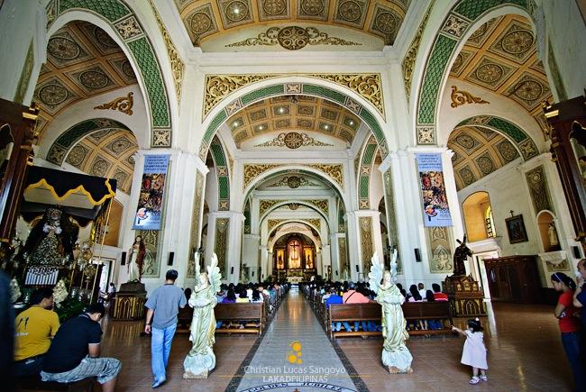 Naga Metropolitan Cathedral Interiors