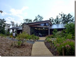 Visitor Center at Shenandoah River SP
