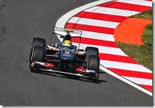 Gutierrez con la Sauber nelle prove libere del gran premio della Corea 2013