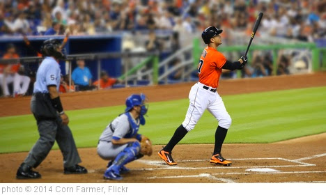 'Giancarlo Stanton's Home Run' photo (c) 2014, Corn Farmer - license: https://creativecommons.org/licenses/by-nd/2.0/