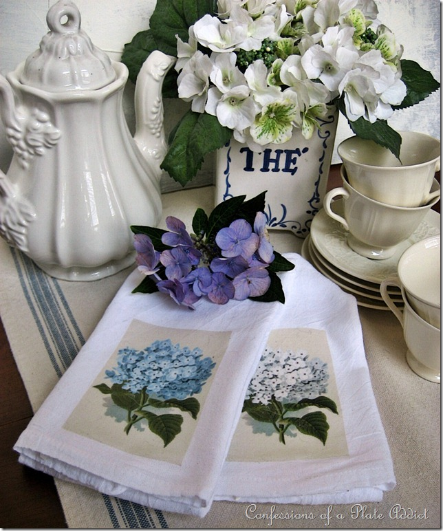 Hydrangea Tea Towels 2