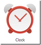 Google Clock Logo in Chrome Apps