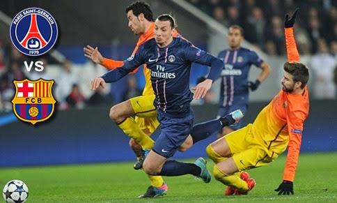 Paris Saint Germain vs Barcelona en vivo