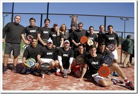 Campeonato de Madrid por equipos 1ª categoría, el OBC defiende su título en Duet Sport.