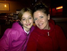 Sydney just two weeks short of her 10th birthday with Aunt Mouse