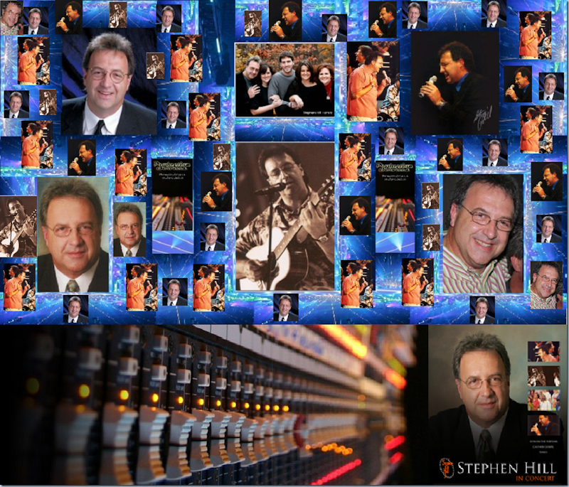 In Loving Memory Stephen Hill 1956-2012. Images, Stephen Hill, Family and Production Services. Collage - Music - In Concert