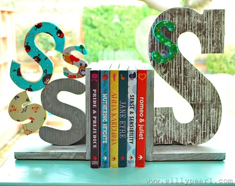 Woodland-Inspired Bookends