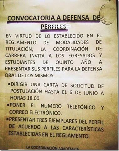 Carrera Comunicación social de la UMSA