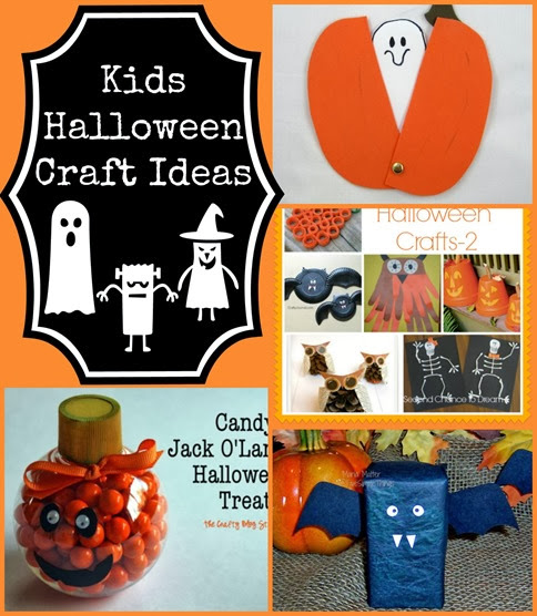 Kids Halloween Craft Ideas