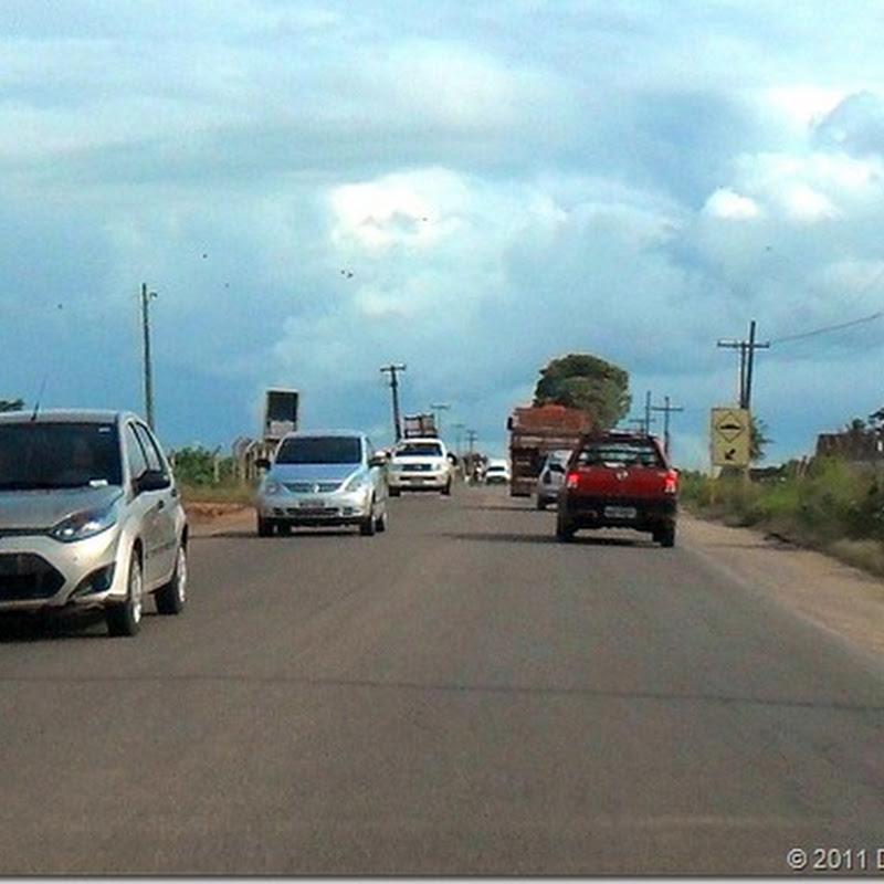 circulação de pessoas e automóveis