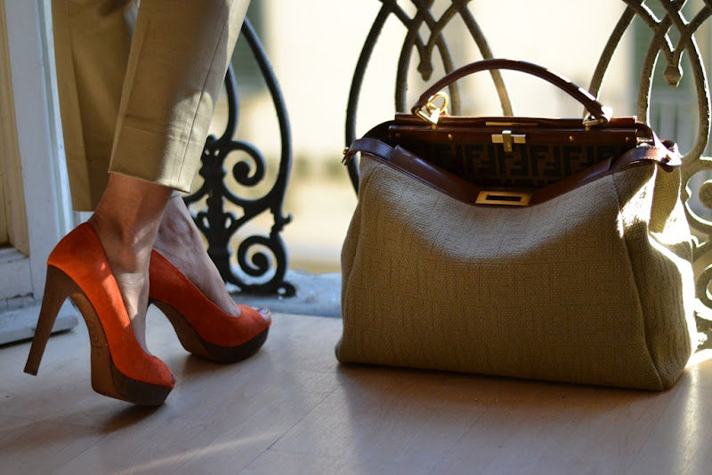 Fendi, peekaboo, Bag, Shoes, Fashion Blogger, Ash shoes