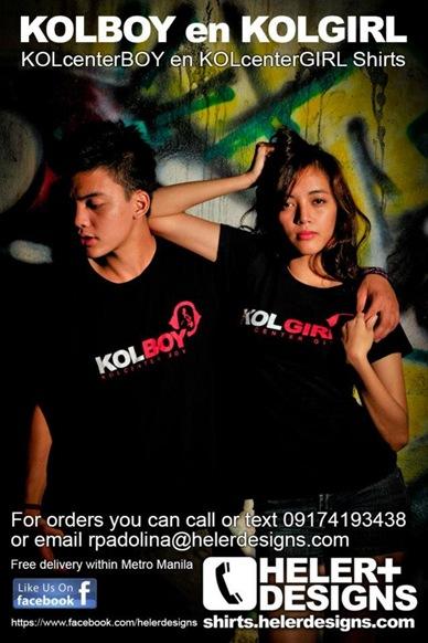 Kolboy and Kolgirl Shirts
