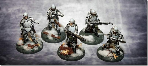 Battle Squad -SSU Dust Tactics