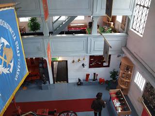 widok z drugiego poziomu