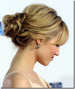 Bun Hairstyles 2012