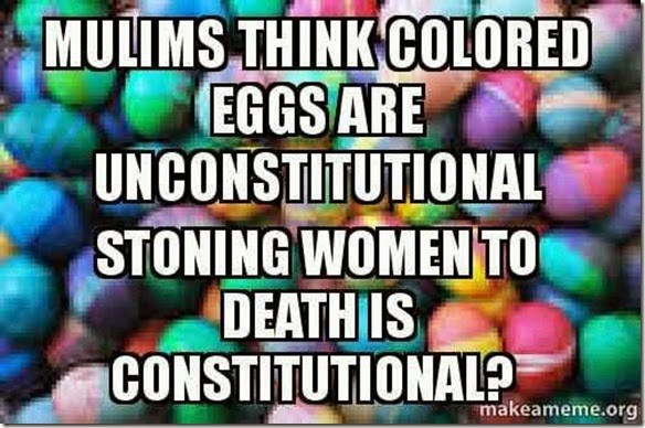 Colored Eggs and Insanity