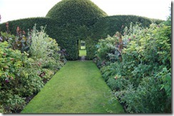 levens hall garden topiary passage