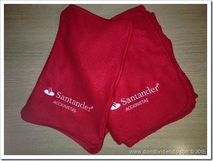 Regalo Junta Santander 2015 DonDividendo