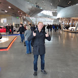 matt at bmw welt in Munich, Bayern, Germany