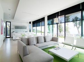diseño interior de salon sillon de diseño