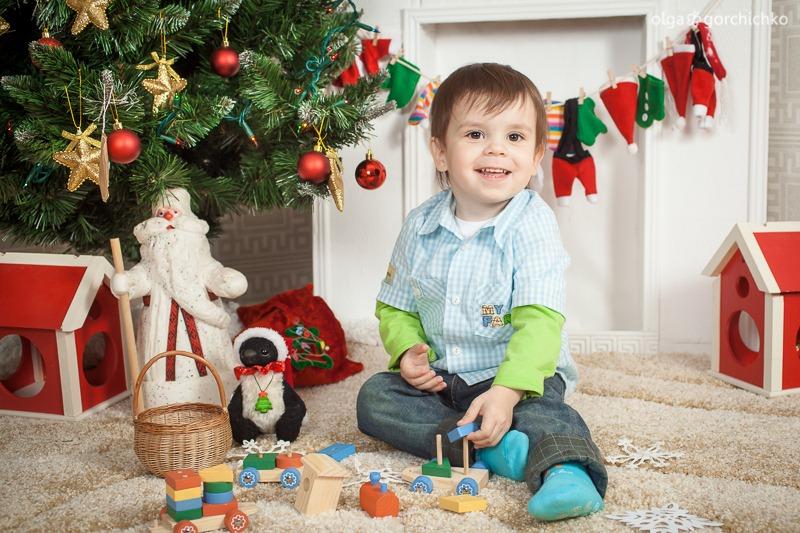 Детский новогодний фотопроект Рождественские мечты. 2. Дима-7901