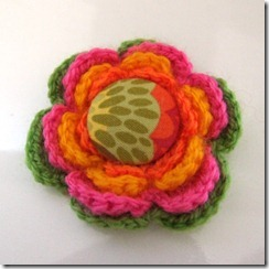 CrochetGreenPinkYellowOrang
