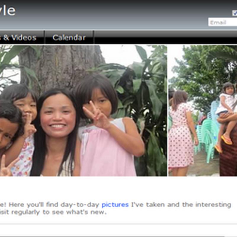 Free website เก็บความทรงจำจากรูปสวย ๆ