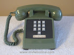 Desk Phones - Western Electric 1500 Green