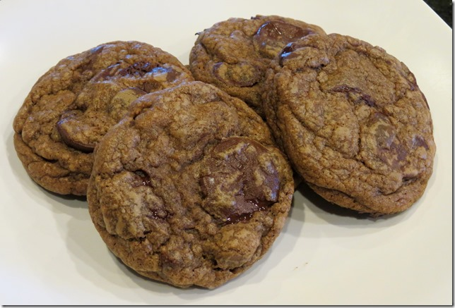 TWD--Cocoa Chocolate Chip Cookies