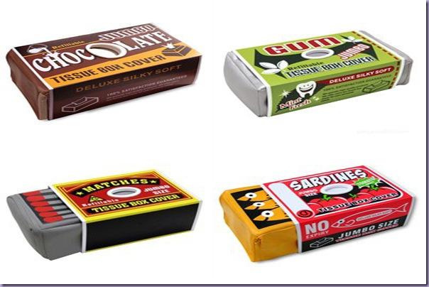 Porta-Lenços-Papel-Caixa-Chocolate-Chiclete-Fósforos-Lata-Sardinhas