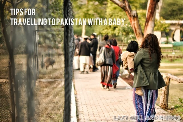 tips for travelling to pakistan with a baby image